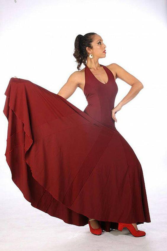 MARIBEL Dress Flamencita design Professional by flamencita on Etsy