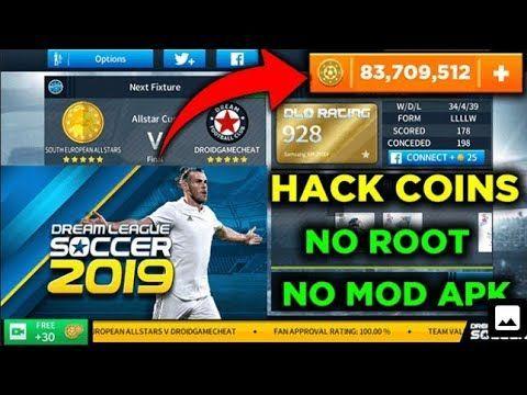 Hack Dream League Soccer 2019 Apk Get Endless Coins No Survey