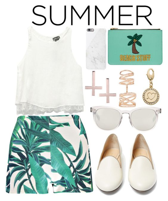 """""""Summer Staples"""" by joslynaurora ❤ liked on Polyvore"""