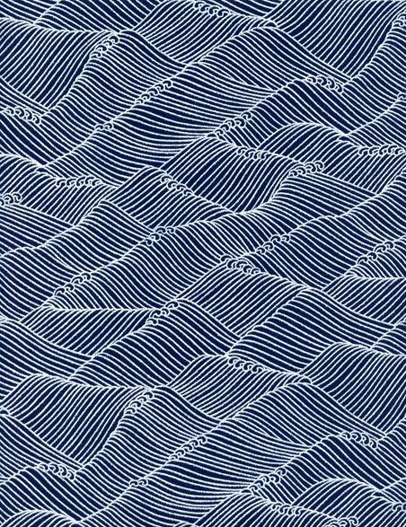 Seigaiha (wave design)                                                       …