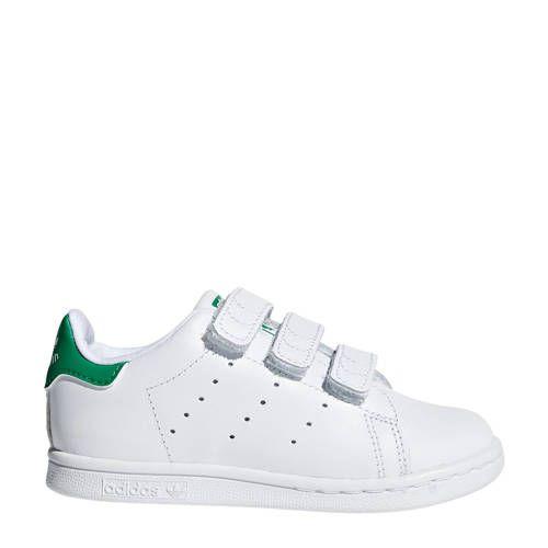 adidas Originals Stan Smith CF I sneakers wit/groen in 2020 ...