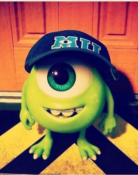 Mike in Monsters University | He was so adorable!