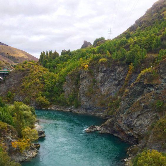 ...breathtaking view!! #kawaraubridge #newzealand