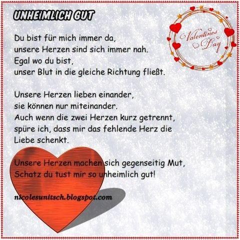 50++ Gedichte zum valentinstag fuer ihn Trends