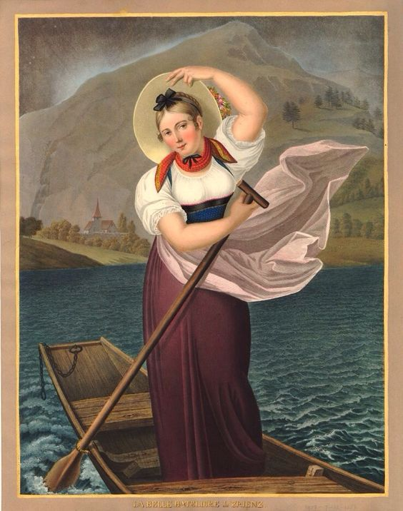 Die schöne Schifferin, Élisabéthaine Grossmann