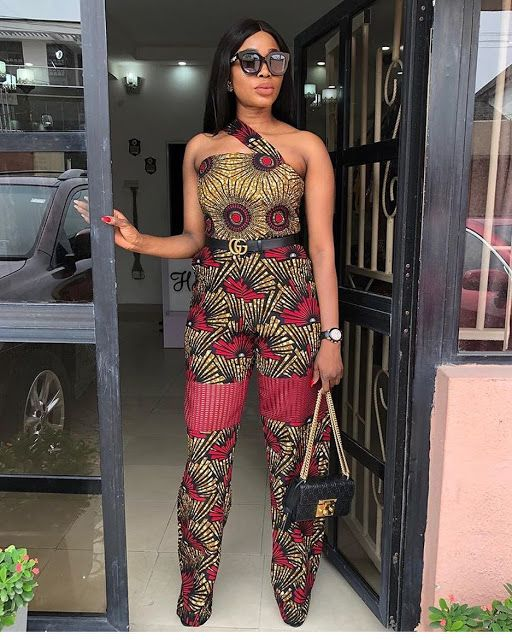 Image result for latest ankara jumpsuit 2019