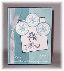 stampin up snowman cards - Google Search