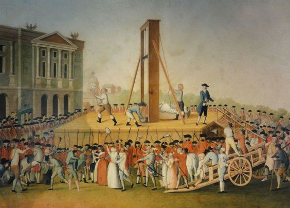A fake news article reported that France has announced they are bringing back the guillotine for use on terrorists.