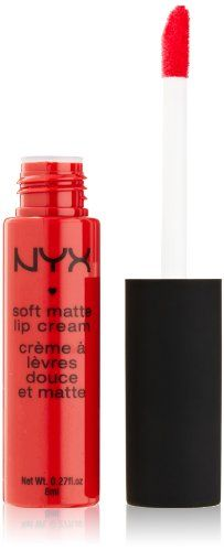 NYX Soft Matte Lip Cream, Amsterdam... Best lipstick ever!!!!