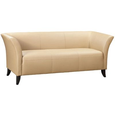 OfficeSource Scottsdale Leather Sofa | Wayfair