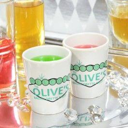 Vegas Style Bachelorette Party Shot Glasses $24.00