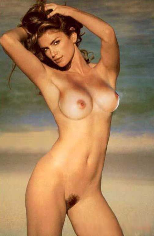 Cindy Crawford Naked Pussy