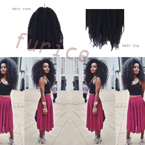 crochet xpression xpression braids curly crochet crochet braiding hair ...