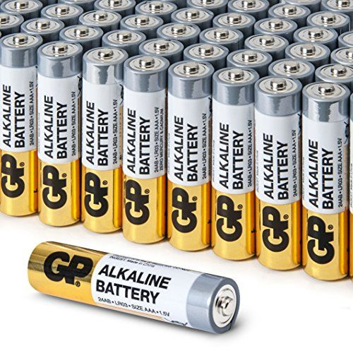From 7 99 Aaa Battery Value Pack By Gp High Performance 1 5v Aaa Alkaline Batteries Box Of 48 Alkaline Battery Battery Sizes Coors Light Beer Can