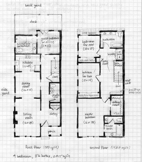 25 Ft Wide House Plans New We Did A Little Design Exercise The Other Day Where We House Plans Narrow Lot House Plans Cottage Style House Plans