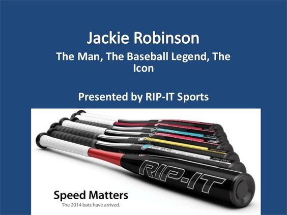 Jackie Robinson: The Man, The Baseball Legend, The Icon