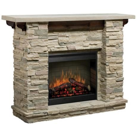 dimplex featherstone electric fireplace the stacked