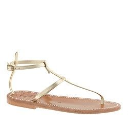 K. Jacques™ for J.Crew Higgs T-strap sandals