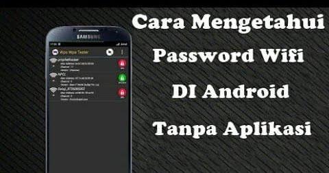 Cara Mengetahui Password Wifi Yang Sudah Connect Di Hp Android Ulasan Cara Melihat Password Wifi Yang Sedang Digunakan Di Android Android Aplikasi Smartphone