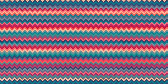 Crevron Aztec #estampa #print #pattern #color #colorful #beautiful #cores…