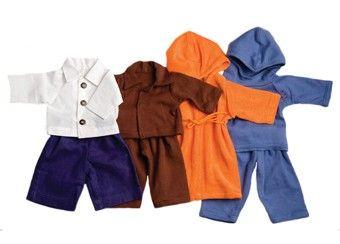 Kleider-Set für Peppa Stoffpuppe (40cm)