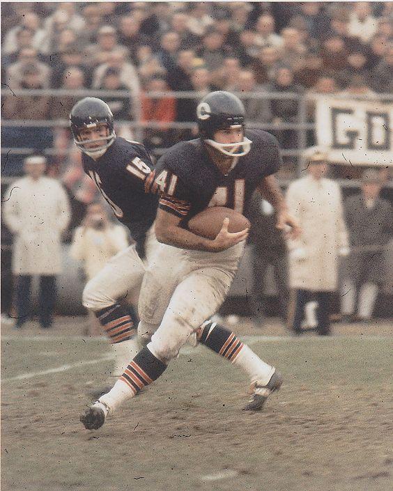 Brian Piccolo Chicago Bears 1965-69.