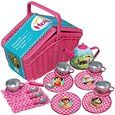 Amazon.de: Studio 100 MEHI00000200 - Heidi - Picknick-Set mit Geschirr aus Metall im Korb: Spielzeug