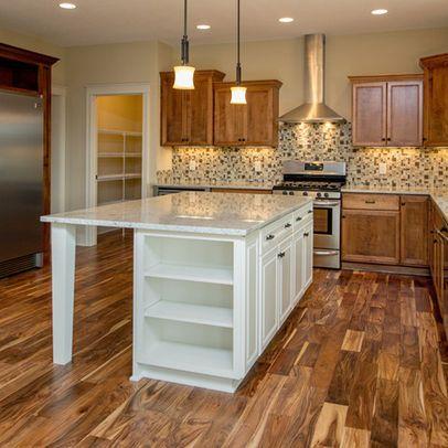 Acacia flooring acacia and flooring on pinterest for Acacia kitchen cabinets