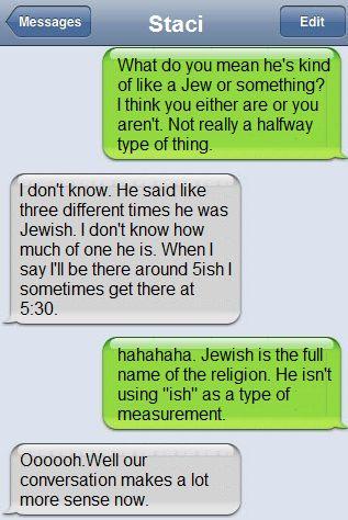 Lol! I love it