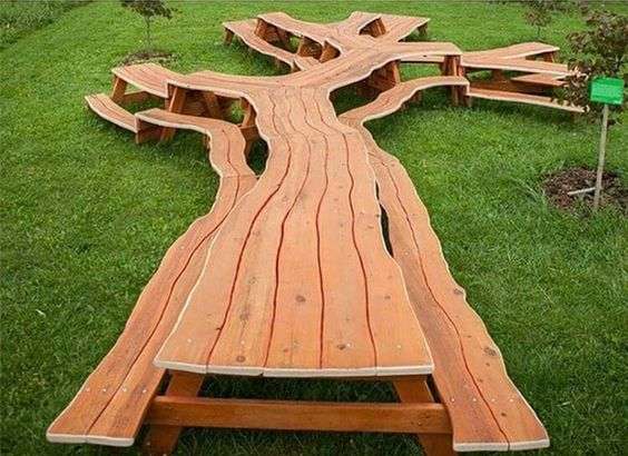 This Family Tree Picnic Table Pics Pinterest Trees Picnic - Huge picnic table