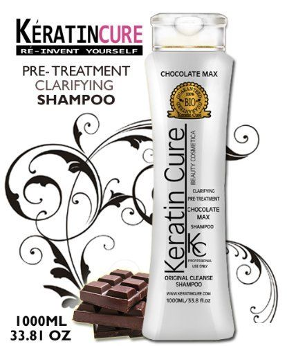 Keratin Brazilian Clarifying Shampoo Hair Pre-treatment Chocolate Max Bio Biological Kc Keratin Cure Original Cleanse 1000ml 38.14fl Oz Contiene Keratina Champu Clarificante by KERATIN CURE SHAMPOO. $59.99. LARGE PROFESSIONAL BOTTLE. OPENS HAIR CUTICLES - REMOVES RESUDUES. FOR PREPARATION OF MOST HAIR TREATMENTS. BOTANICAL INGREDIENTS. DELICIOUS CHOCOLATE SCENT. KC Chocolate Max contains keratin amino acids empower a stronger, more shinier and add to moisturize the hair. Caca...
