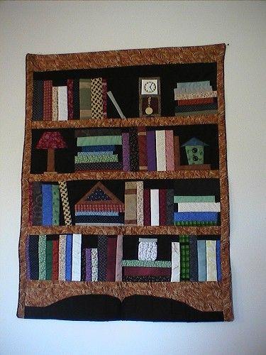 bookshelf quilt: