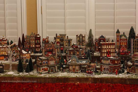 christmas village collections - Google Search
