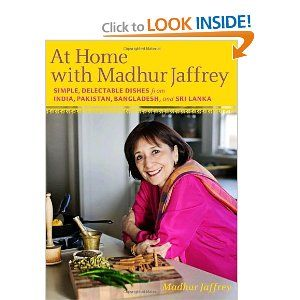 At Home with Madhur Jaffrey, Indian cookbook: Worth Reading, Asian Cookbooks, Indian Recipes, Indian Cooking, Cookbooks Foodie Books, Books Worth, Indian Food, Delectable Dishes