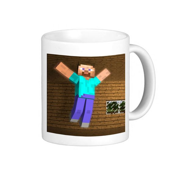 Steve Minecraft, Coffee mug coffee, Mug tea, Design for mug, Ceramic, Awesome, Good, Amazing