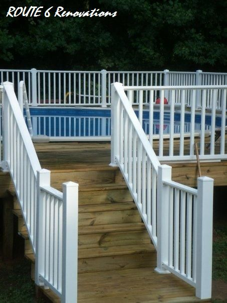 how to put decking on gates