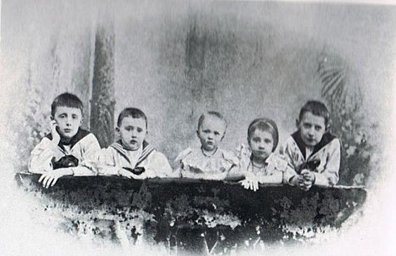 The Children of Grand Duke Konstantin Konstatinovitch