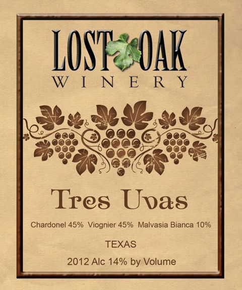 Lost Oak Winery - Tres Uvas