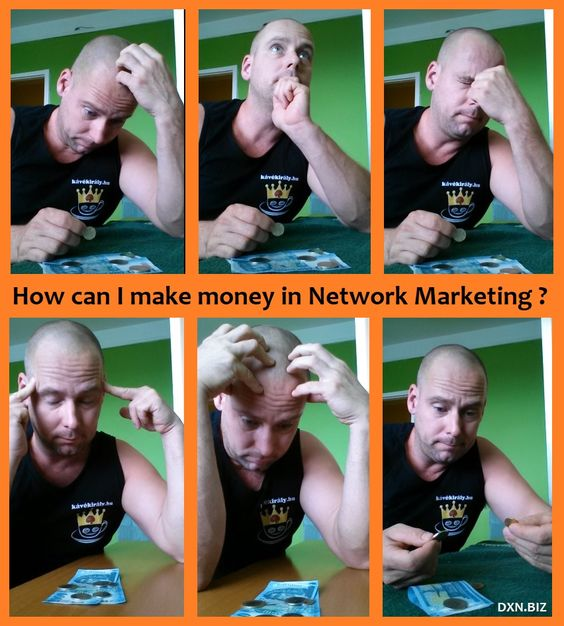 Money making in MLM is totally different from earning a salary in a job.