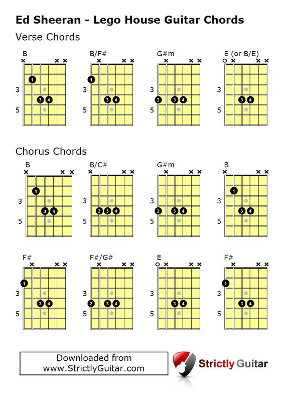 Guitar yellow guitar chords : Pinterest • The world's catalog of ideas
