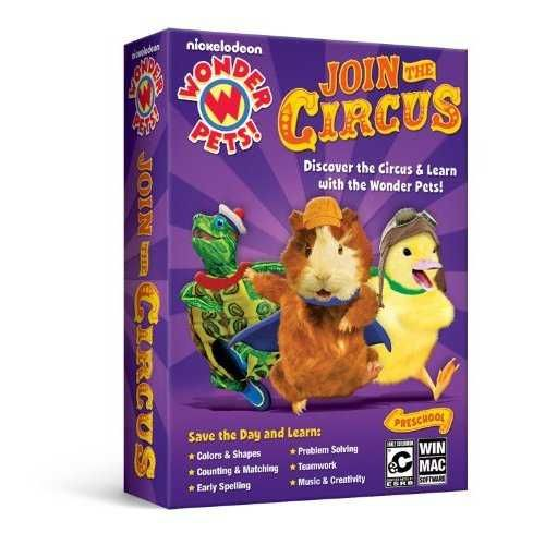 Wonder Pets Join The Circus Reviews News Descriptions Walkthrough And System Requirements Game Database With Images Wonder Pets Pets Early Learning Toys