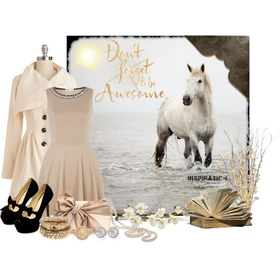 """""""Be Awesome"""" by luluchella on Polyvore"""