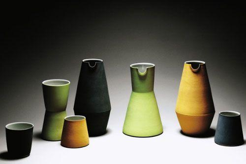 Derek Wilson water jugs