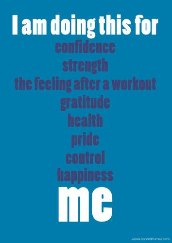 There are many reasons to exercise!