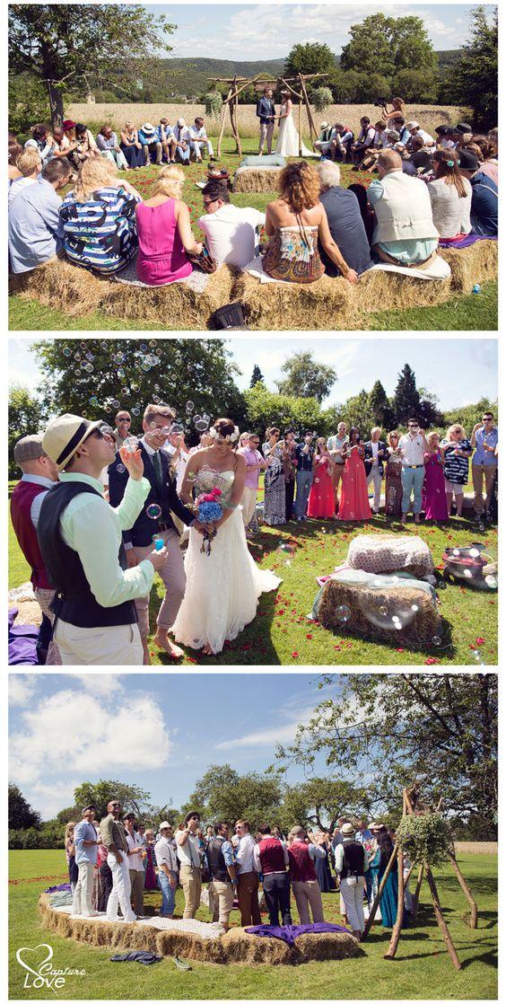 Budget tip voor je bruiloft, ken je iemand met een mooie grote tuin of boerderij? Zo bespaar je veel kosten op de trouwceremonie en heb te toch een heel speciale romantische setting!