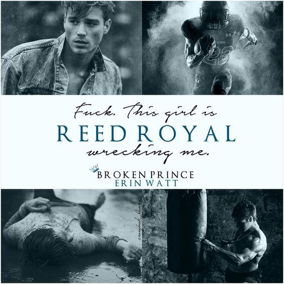 Reed Royal | The Royals by Erin Watt