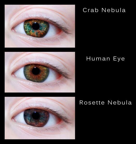 the universe through her eyes
