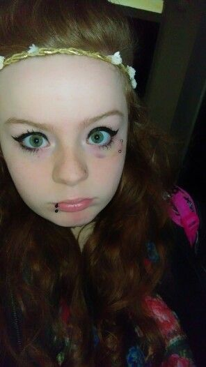 Not gonna lie the piercing gave me a black eye and it was for Jobs that allow piercings tattoos and colored hair