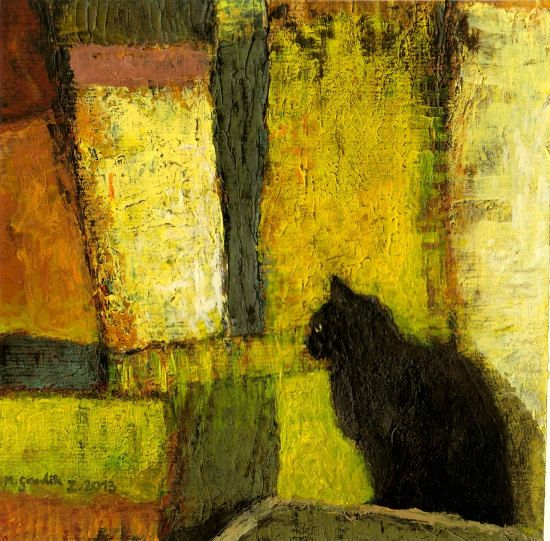 """Black Cat"" by Milena Gawlik"