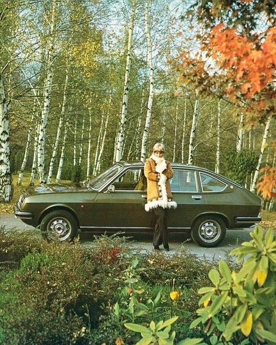 1973 Lancia Beta Sedan